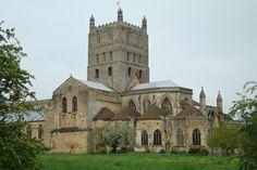 Tewkesbury Abbey, Gloucestershire
