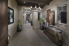 Descano Del Surs - San Diego county real estate - plan 2 - front entry
