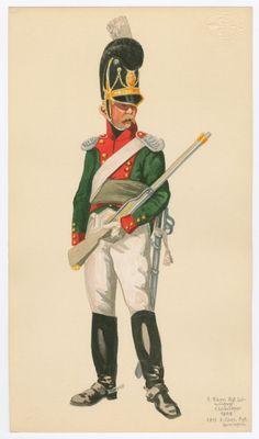 Chev. Rgt Leiningen Chevauleger 1808