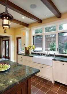 16 Super Ideas Kitchen Marble Countertops Green #kitchen