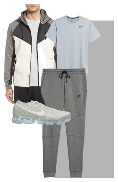 """Pai Acrtivewear 1"" by theogm on Polyvore featuring NIKE, men's fashion and menswear"