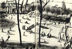 schetsboek van * Yann Kebbi