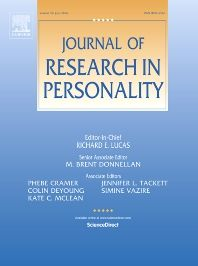 Journal of research in personality [recurs electrònic] San Diego : Academic Press, 1973-