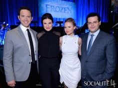 The Cast Of 'Frozen' Got Together Last Night For A Special, Musical Performance & I Wasn't Invited