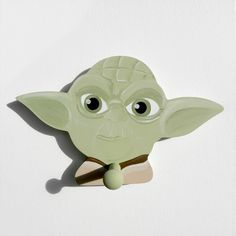 Star Wars Yoda Wall Peg or Decor Piece Without Peg