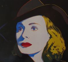Ingrid Bergman in Casablanca, door Andy Warhol