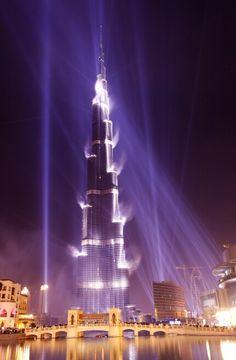 Inauguration of Burj Dubai (Khalifa), Dubai, UAE