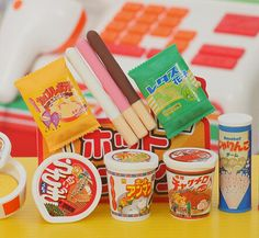 / lot kawaii school supplies lovely food in the form of colorful blots … - LIFE-HACKS. Japanese Stationery, Kawaii Stationery, Stationery Items, School Stationery, Japanese Puzzle, Japanese Food, Homemade Squishies, Eraser Collection, Cool School Supplies