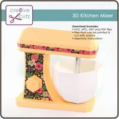 3D Kitchen Mixer