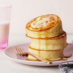 Fluffy Japanese Pancakes By Food Network Kitchen