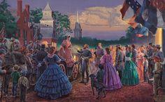Mort Kunstler Handsigned & Numbered Limited Edition Giclee on Canvas ...