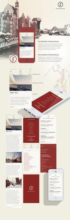 Gedanopedia mobile app for iOS on Behance
