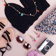 Festival kit? Slayed.🔥 #Accessorize #festival #crochet #bumbag