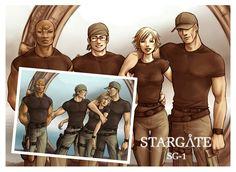 Stargate SG-1 Fan Art  ©2007-2012 ~HitoStargate