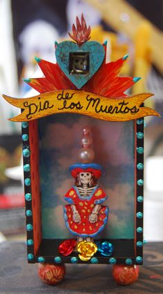 Mini Day of the Dead Shrine by MJChadbourne/DesertDream Studios/All Rights Reserved/Copyright 2013