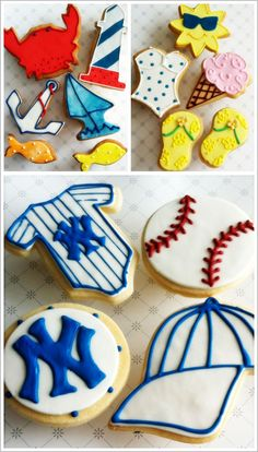 Summertime sugar cookies
