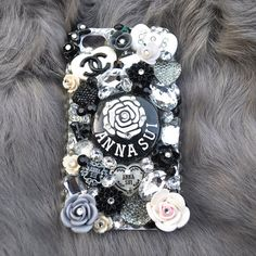Luxury 3d iphone 4 Bling Case with Rhinestones by DemiGoddessCo