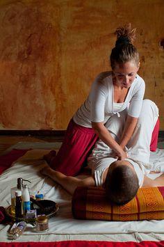 Thai Yoga massage with Jennifer Hofmann - soothing, invigorating, relaxing.   http://www.lifepathretreats.com/thai-yoga-massage-nuad-phaen-boran  $800 mxn