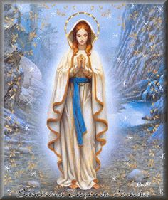 Virgen de Lourdes. Tomada de la red