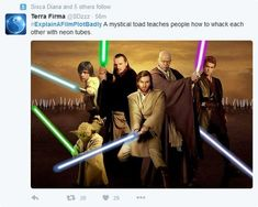 Jedi recruitment poster (except ONLY Mace Windu gets purple) Star Wars Jedi, Star Trek, Luke Skywalker, Obi Wan, Star Wars Episodio V, Kit Fisto, Darth Revan, Explain A Film Plot Badly, Saga