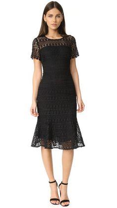 Shoshanna Park Midi Dress | SHOPBOP