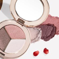 Amp up your daily makeup routine with one of our newest PurePressed Eye Shadow Triples... Pink Quartz!