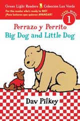 This Spanish/English bilingual edition, with easy vocabulary, repetition, and bold illustrations, is sure to give young readers a good base for decoding and comprehension, while tickling their funny bones as only Pilkey ca.