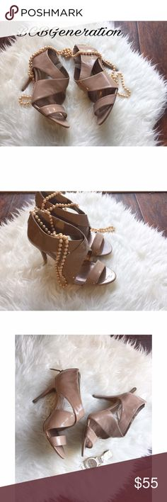 💝BCBGeneration Heels💝👠 Super cute tan Heels. Perfect for work or night out 💝 BCBGeneration Shoes Heels