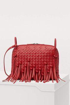 40c27e8adc Bottega Veneta Nodini fringed cross-body bag Crossbody Bags