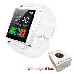 Original Bluetooth Smart Watch U8 Smartwatch U Watch For iOS iPhone Samsung Sony Huawei Xiaomi Android Phones Good as GT08 DZ09