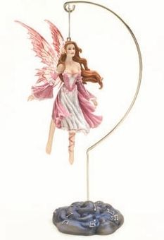 Rose Adagio Fairy Ornament