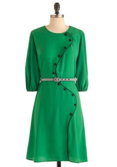 Swooping Sophistication Dress...OK..maybe not my style, but it's interesting no less.