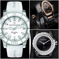 Twenty-four candidates are entered in the ladies' watch category of GPHG and there is a highly diverse range of entrants. Chanel J12, 200m, Mechanical Watch, Luxury Watches, Grand Prix, Omega Watch, Lady, Accessories, Clock Art