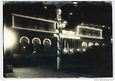 Photos - USA Californie / San Francisco - Photo Originale Hotel St FRANCIS -1904 - FETE - de NUIT -