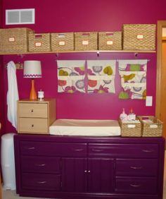 Nursery and Changing Station by All Things G&D #allthingsgd