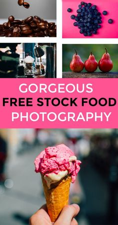 If you are looking for free food stock photography, this site is amazing! Creative Commons Zero means you can use them for personal or commercial uses for FREE!