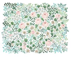 May Bouquet in A Cloudy Late Summer's Day by Anna Emilia Laitinen; absolutely love her delicate designs