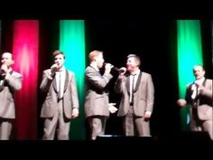 Straight No Chaser - Twelve Days of Christmas, Part 2 - Topeka, KS. The 0:23 mark where Don and Ryan CRACK UP and can't manage to stop laughing for most of the song...SO funny!
