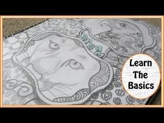 How To Make Zentangle Art Projects ~ A Way To Relax - YouTube   http://pinterest.com/christinealane/zentangle-tutorials-and-videos/