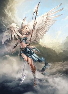 Angel by Tira-Owl on DeviantArt