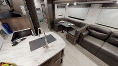 General RV Virtual Showroom | Browse RV Floor Plans, Videos Rv Floor Plans, Travel Trailers, Showroom, Retirement, Flooring, How To Plan, Videos, Table, Furniture