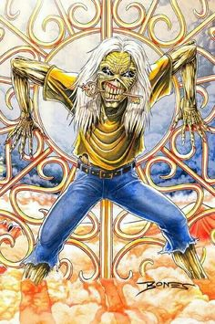 Eddie-Iron Maiden.........................