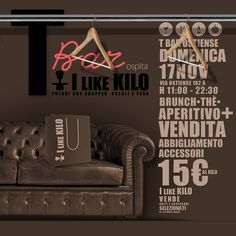 ILIKEKILO is BACK! Domenica, 17 Novembre, T-BAR - dalle 11.00 alle 22.30. Un MARE di abbigliamento ed accessori a 15 EURO AL CHILO!