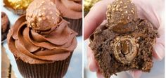 Ferrero Rocher Cupcakes | Gem106