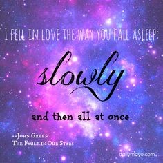Quote me Thursday Link-Up 28: The Fault in Our Stars Quotes | Daily Mayo