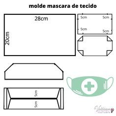 Tự may khẩu trang siêu nhanh/How to make a maks/最速のマスクを作る Crea la maschera più veloce/ - New ideas Sewing Hacks, Sewing Tutorials, Sewing Crafts, Sewing Projects, Easy Face Masks, Diy Face Mask, Couture Main, 3d Face, Diy Mask