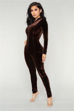 59889b41b77 Long Rompers Slim Full Overalls Women Sexy Turtleneck Pleuche Bodysuits  Velvet Jumpsuits