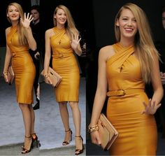 How to Chic: STUNNING BLAKE LIVELY IN A GUCCI DRESS