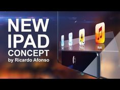 New iPad Concept - by Ricardo Afonso