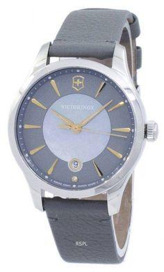 Victorinox Alliance Small Swiss Army Quartz 241756 Women's Watch Stainless Steel Watch, Stainless Steel Bracelet, G Shock Watches, Rose Gold Watches, Luxury Watches For Men, Swiss Army, Watch Sale, Calf Leather, Quartz
